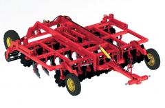 Disc harrows, PD-4, with an adjustable angle of