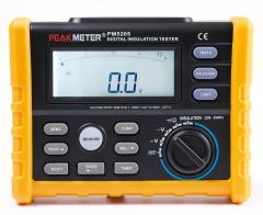 Тестер сопротивления изоляции Peakmeter PM5205