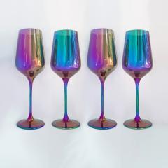 Набор бокалов для вина Rona Charisma 350 мл радуга
