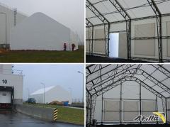 _ Angara warehouse, Warehouse tent, Tent hangars