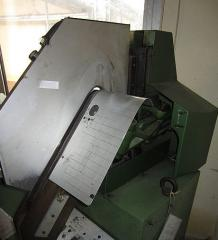 The machine for SIGMA 163 saddle extrac