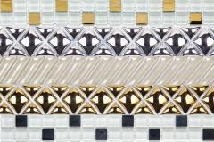 Friezes decorative for a tile