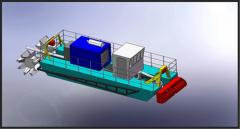 Special equipment - dredges, with a productivity