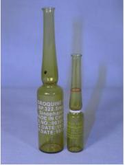Ampoules glass medical 5 ml.