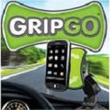 Holder of the GripGo mobile phone