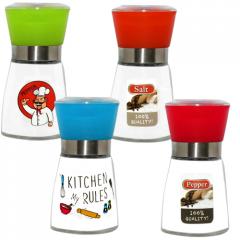 Мельница для соли и перца 180мл 'Правила кухни'