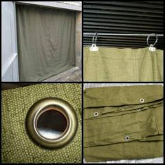 Awnings, curtains tarpaulin, protection