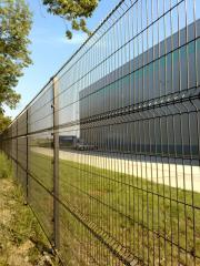 Fences from a galvanized wire (GOST-3282-74), with