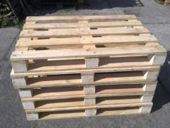 The pallets facilitated. The europallet 1 grade