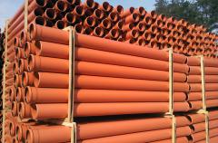 Pipes PVC are smooth-bore, pipes plastic, pipes