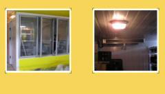 Экспозиционная холодильная камера-витрина Камеры