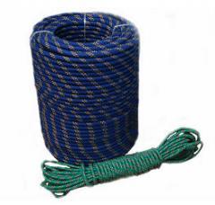 Polypropylene braided cords floating
