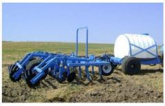 Cultivator hook-on with the equipment for