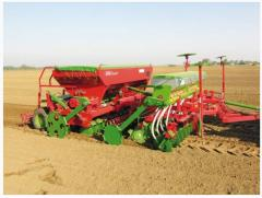 Seeding equipment for fertilizers
