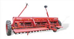 Seeders and planting machines for grain