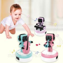 Робот музыкант колонка детская подвижный, свет,