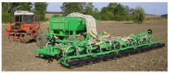 Seeding equipment for fertilizers