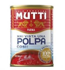 Mutti, Polpa, 400 г, Томаты кусочками