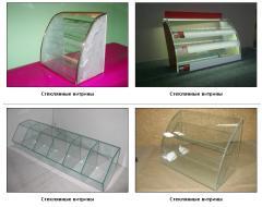 Glass show-windows