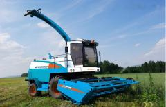 Forage harvesters of the Ukrainian and foreign