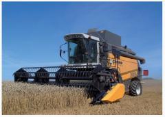 Комбайны сельскохозяйственные украинских и