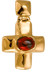 "Cross ""Korsunsky"", silver of 925"