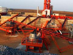 The equipment for the enterprises of mining branch