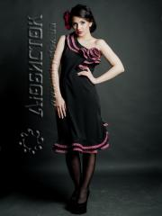 The embroidered ZhP 65-63 fashionable dress
