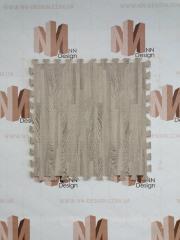 Модульна підлога пазл сіре дерево