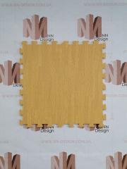 Модульна підлога пазл жовте дерево
