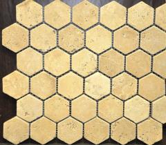 Мозаичная плитка травертин киев натуральный камень