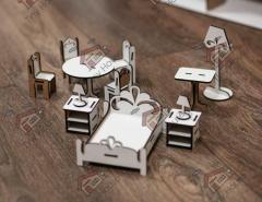 Маленький набор стандартной мебели DF001