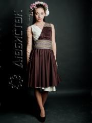 Новая коллекция вышитой современной модной женской
