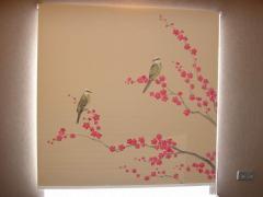 Жалюзи рулонные в японском стиле