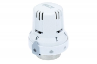 Thermostatic head for temperature-controlled and