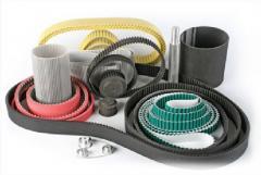 Driving belts polyurethane