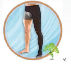 Stocking on one leg (A compression class 3) of