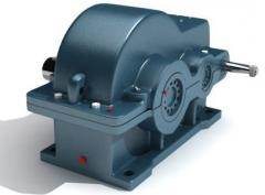 Gearboxes cylindrical three-step