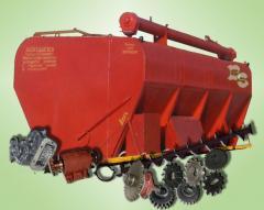 Запасные части к загрузчикам сухих кормов