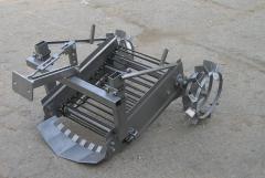 Картофелекопалка транспортерная привод от колес +