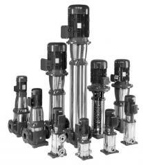 Industrial vertical multistage pumps