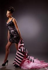 Выпускное платье-трансформер с корсетным