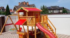 Детская площадка Spielplatz Витольд с двойной