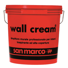 WALL CREAM-paint with high degree of covering