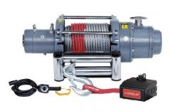 Winches for cars and vehicles
