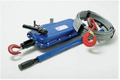 Winches, pull, hand, portable