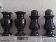 Гранитные вазы на заказ Киев, доставка по Украине