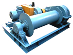Winches are electric, the winch electric