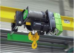 Explosion-protected chain hoists