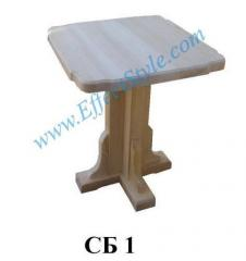 Bar table (House-keeper) is executed in classical